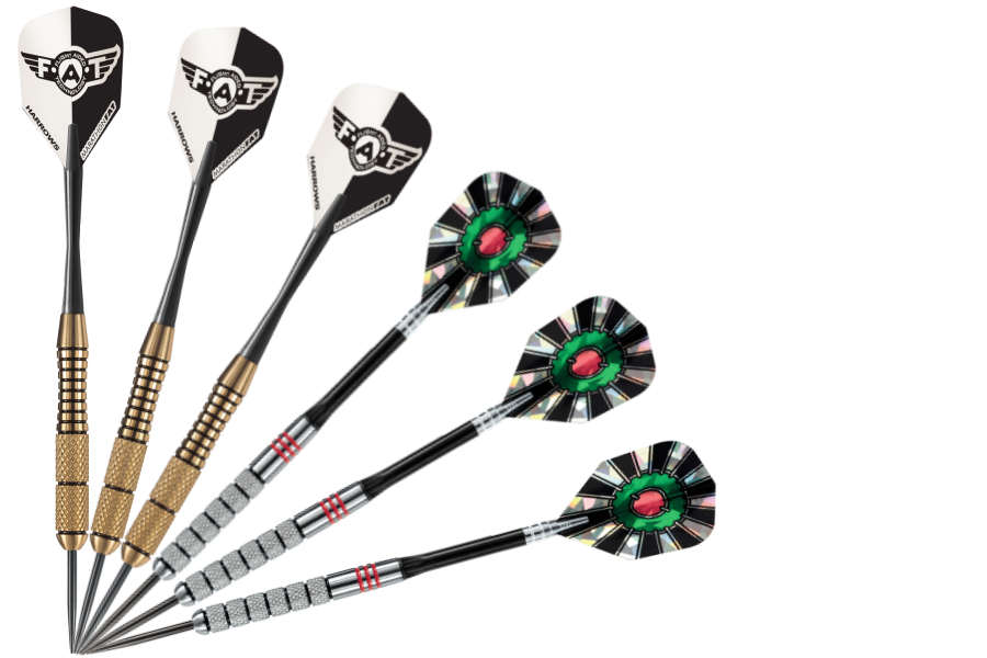 Brass and Tungsten Darts