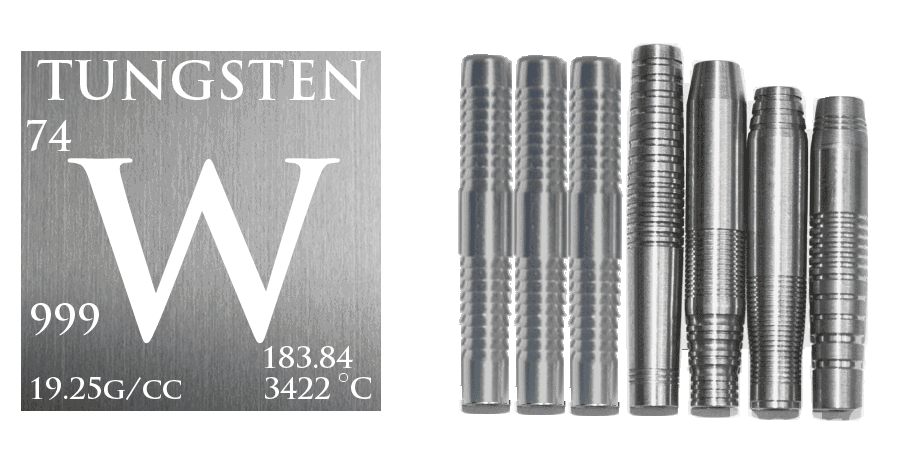Tungsten Billlet Barrels