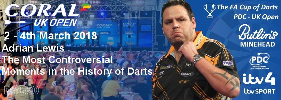 Adrian Lewis - UK Open Qualiers 2018