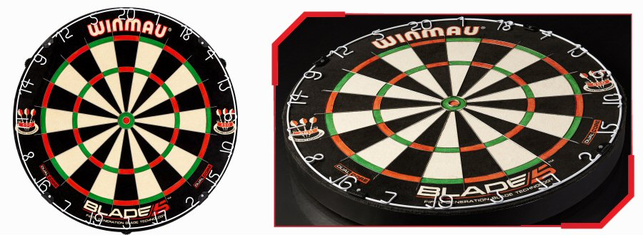 Dartboards Blade and Wire Construction on
