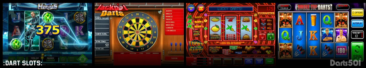 The Top Four Darts Themed Online Casino Slots for Fans to Play